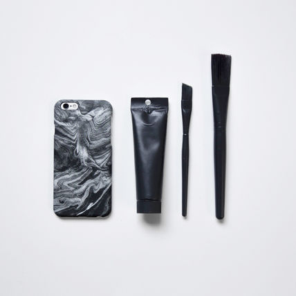 FELONY CASE スマホケース・テックアクセサリー 新作 FELONY CASE Smoke Marble Sleek type iPhone6/6S/7/7Plus(6)