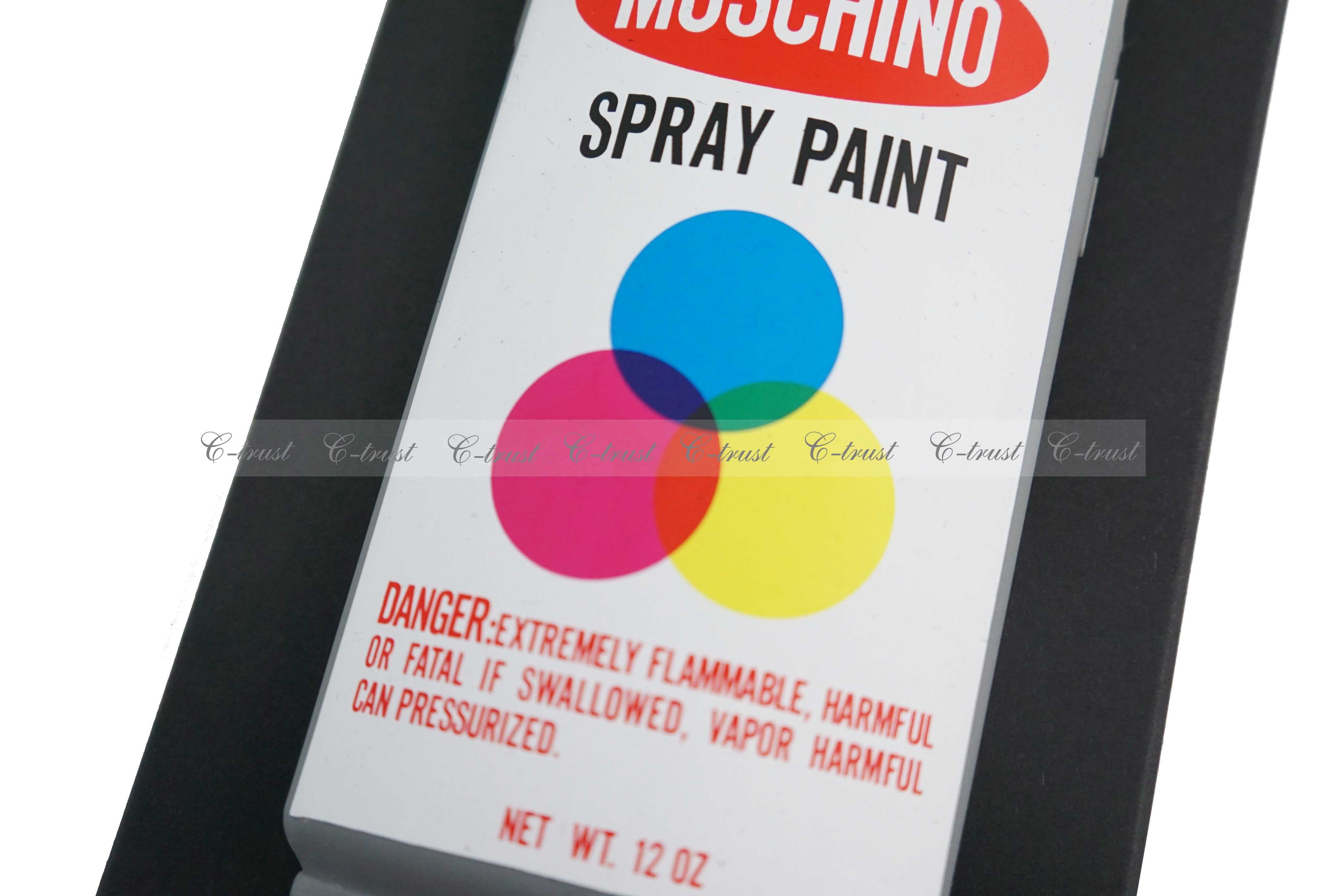MOSCHINO iphone6 ケース 正規品 SPRAY PAINT