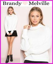 ☆新作*日本未入荷☆Brandy Melville*CARI TURTLENECK SWEATER