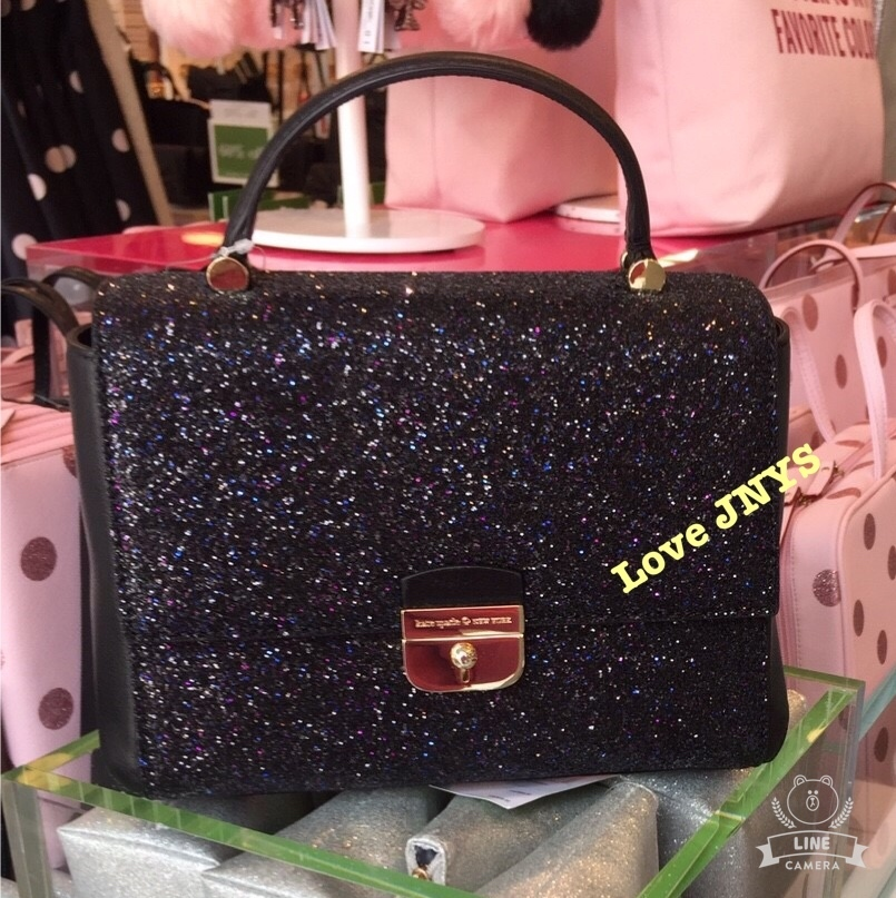 3-5日着★kate spade☆small brynlee sunset lane☆black