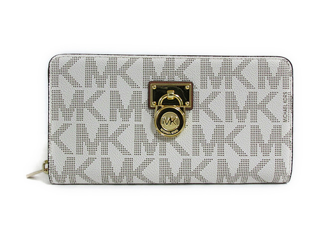 MICHAEL Michael Kors HAMILTON TRAVELER LG ZIP AROUND