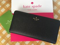 Kate Spade★Mulberry Street Large Stacy カード用長財布★黒色