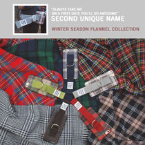 【SECOND UNIQUE NAME】WINTER SEASON FLANNEL 5色/iPhone 5,6,7