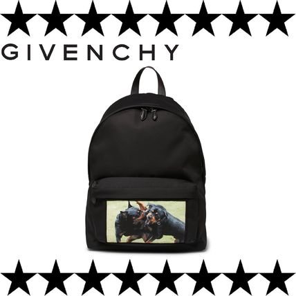 GIVENCHY (ジバンシィ) Backpack 猛犬プリント リュックサック