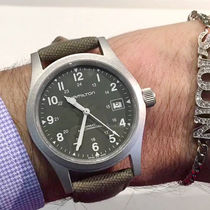 ★通好みの手巻★Hamilton Khaki Field Mens Watch H69419363