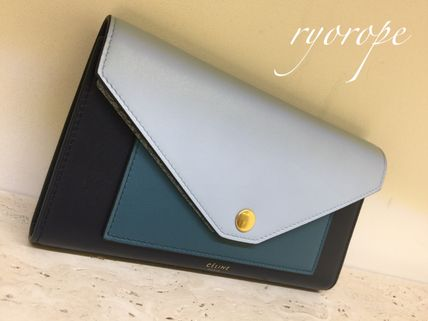 CELINE 長財布 ★NEW! 2017SS★【CELINE】POCKET TRIFOLDED WALLET (Mineral)(2)