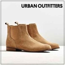 Urban Outfitters(アーバンアウトフィッターズ) ブーツ ☆Urban Outfittersスエードチェルシーブーツ/キャメル☆送関込
