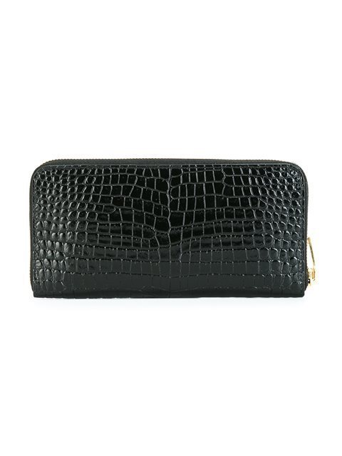 SAINT LAURENT 'Monogram' zip wallet サン・ローラン>財布