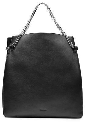 16 AW JIL SANDER leather tote bag