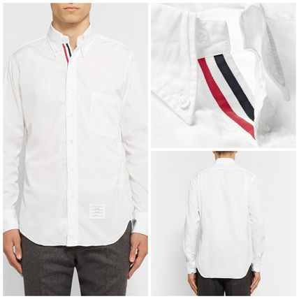 THOM BROWNE Thom button down Oxford shirt