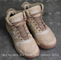 NEW BALANCE FRESH FOAM PARADOX SUEDE ウォータープルーフ 3色