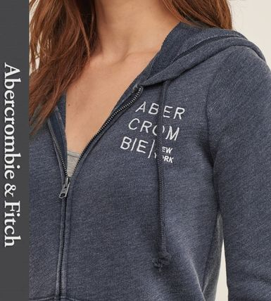 Abercrombie & Fitch パーカー・フーディ ★即発送★在庫あり★A&F★Embroidered Logo Graphic Hoodie★(2)