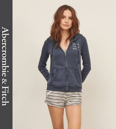 Abercrombie & Fitch パーカー・フーディ ★即発送★在庫あり★A&F★Embroidered Logo Graphic Hoodie★(3)