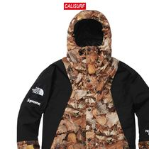 コラボ☆L Supreme x TNF mountain light jackets/BROWN