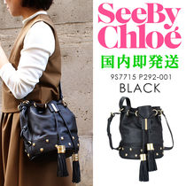 SEE BY CHLOE/シーバイクロエ #9S7715-P292 巾着型レザーバッグ