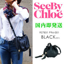 SEE BY CHLOE/シーバイクロエ #9S7831-P96 巾着型レザーバッグ
