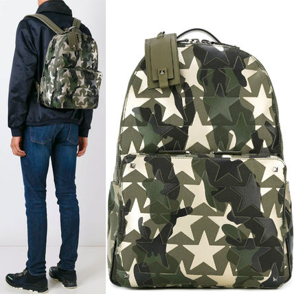 16-17AW VM128 'CAMUSTARS' PATCHWORK BACKPACK