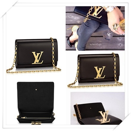 "★【Louis Vuitton】日本完売!Chain ""Louise GM""Soft Leather★"
