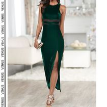 VENUS*VELVET LONG DRESS