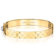 Louis Vuitton NANOGRAM CUFF ゴールド
