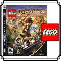LEGO(レゴ) ゲーム レゴ PS3☆LEGO Indiana Jones 2: The Adventure Continues