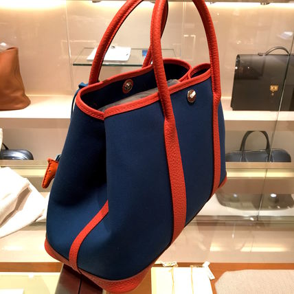 """HERMES トートバッグ 2016""""OUTREMERxCAPUCINE""""★HERMES/Garden 30(TPM)VACHE COUNTRY(2)"""