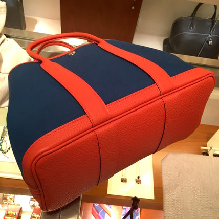 """HERMES トートバッグ 2016""""OUTREMERxCAPUCINE""""★HERMES/Garden 30(TPM)VACHE COUNTRY(4)"""