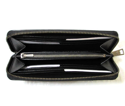 Coach 長財布 人気の黒☆COACH☆CROSSGRAIN LEATHER ACCORDION WALLET(2)
