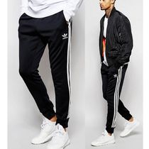 大人気!adidas Originals Superstar Cuffed Trackpants