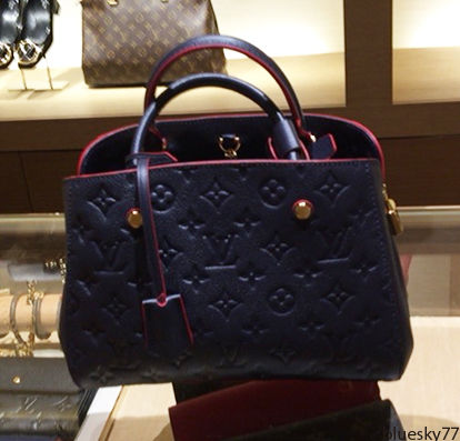 new style b09f3 270bb Louis Vuitton(ルイヴィトン)MONTAIGNE アンブランドBBバッグ
