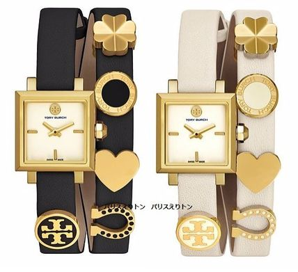 【NEW特価☆箱付き補償発送】Tory Burch SAUCY DOUBLEWRAP WATCH