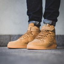 "☆最新作☆完売必至☆NIKE AIR FORCE 1 HIGH ""FLAX""☆"