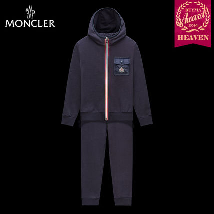 TOPセラー賞!16/17秋冬┃MONCLER_8-10歳★OUTFIT┃ダークブルー