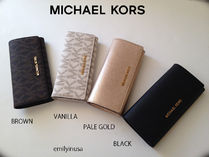 即発! Michael Kors★11月新作★JET SET TRAVEL CARRYALL 長財布