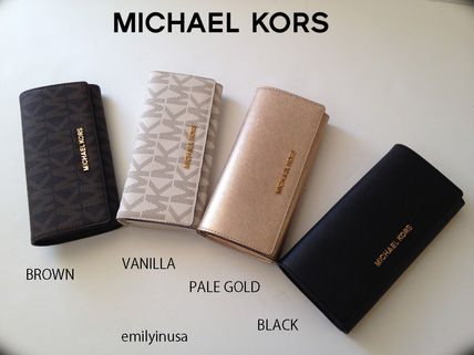 Michael Kors 長財布 即発! Michael Kors★11月新作★JET SET TRAVEL CARRYALL 長財布