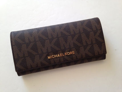 Michael Kors 長財布 即発! Michael Kors★11月新作★JET SET TRAVEL CARRYALL 長財布(4)