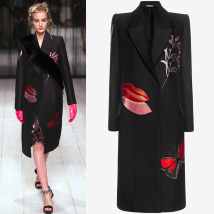 16-17AW AM099 LOOK2 'VANITY OBSESSION' JACQUARD COAT