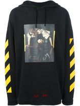 【関税負担】 OFF WHITE 16AW NARCISO HOODIE BLACK