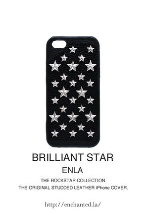 enchanted LA スマホケース・テックアクセサリー iPhone★超人気【enchanted.LA】BRILLIANT STAR STUDDED COVER(3)