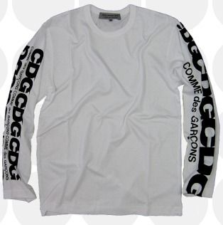 COMME des GARCONS CDG logo long sleeve t-shirt