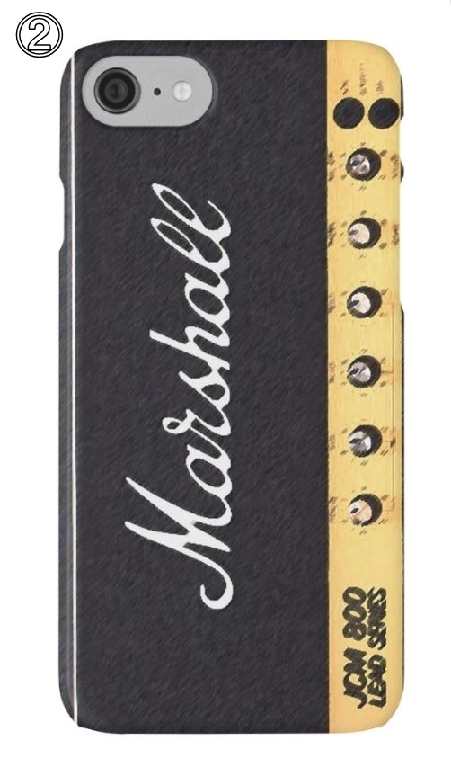 ☆RED BUBBLE Marshall amp iPhoneケース5種☆送関込