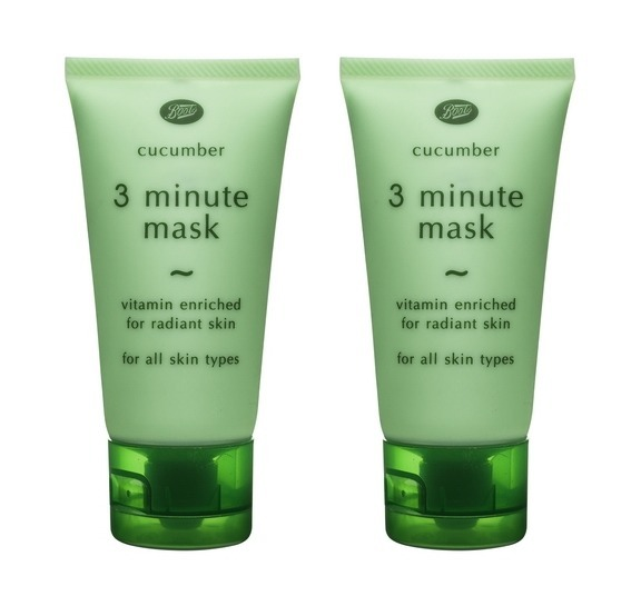 お得2本SET Cucumber 3 Minute Mask 50ml×2本セット