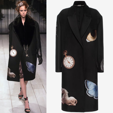 16-17AW AM110 LOOK1 'NIGHT TIME OBSESSION' OVERSIZED COAT