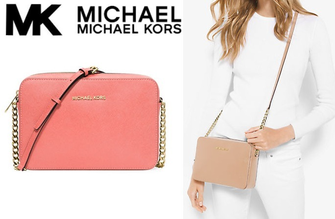 SALE! ★★Michael Kors Jet Set Travel Large クロスボディ★★