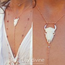 ROSE GOLD BULL NECKLACE ネックレス★Luxdivine #344