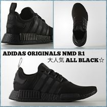 新作★Adidas★×★Originals★NMD  R1 ALL BLACK安心・追跡付