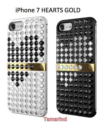 """LUXレア★iPhone7ケース★LUCIEN """"HEARTS GOLD"""" 2色展開"""