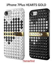 "LUX★iPhone7Plusケース★LUCIEN ""HEARTS GOLD SERIES"" 2色"