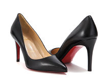 【関税負担】 CHRISTIAN LOUBOUTIN 16AW NAPPA SHINY PUMPS 85