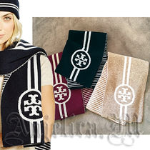 ★在庫ヤマト発送★TORY BURCH REVERSIBLE STRIPE SCARF